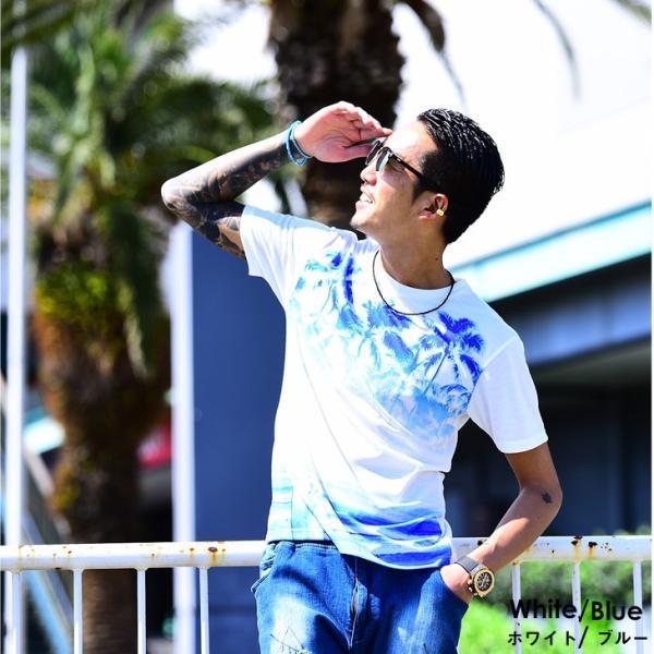 メンズ Tシャツ 秋Tシャツ サマーTシャツ 半袖 カットソー フォトプリント 半袖カットソー 秋 秋服 秋物秋 プリント|evergreen92|17