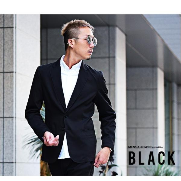 テーラードジャケット メンズ セットアップ スーツ テーパード スラックス ジャケット アンクルパンツ ジョガーパンツ 送料無料|evergreen92|03