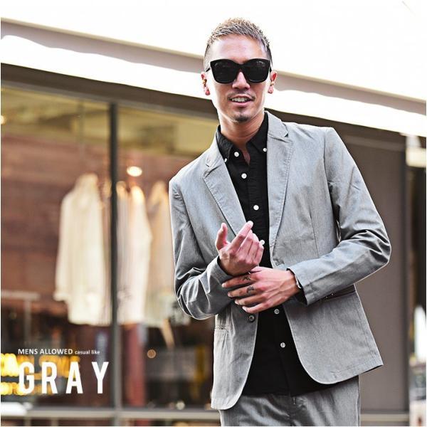 テーラードジャケット メンズ セットアップ スーツ テーパード スラックス ジャケット アンクルパンツ ジョガーパンツ 送料無料|evergreen92|08
