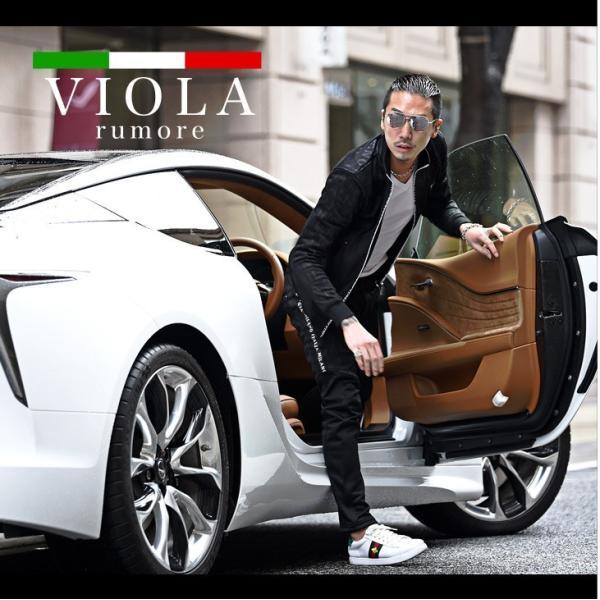 VIOLA rumore ヴィオラ セットアップ メンズ パンツ スウェット スウェットパンツ ジャケット ZIP パンツ ロングパンツ ジャージ evergreen92 02