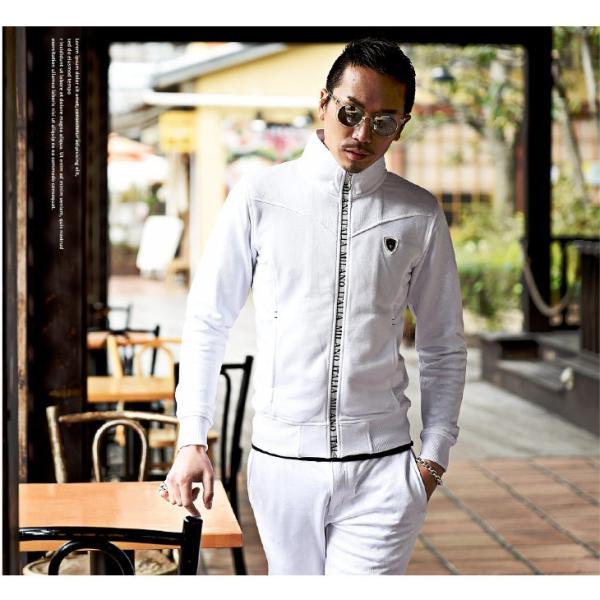 VIOLA rumore ヴィオラ セットアップ メンズ パンツ スウェット スウェットパンツ ジャケット ZIP パンツ ロングパンツ ジャージ evergreen92 06