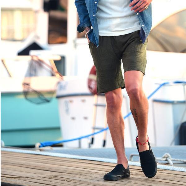 セットアップ メンズ 上下 オープンカラーシャツ 開襟シャツ カラー オープン シャツ 半袖 ショート パンツ ショートパンツ  ハーフパンツ evergreen92 10
