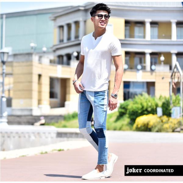 Tシャツ メンズ 半袖 ヘンリーネック tシャツ 無地 キーネック 半袖tシャツ 大きいサイズ トップス  夏 スリム LL|evergreen92|16