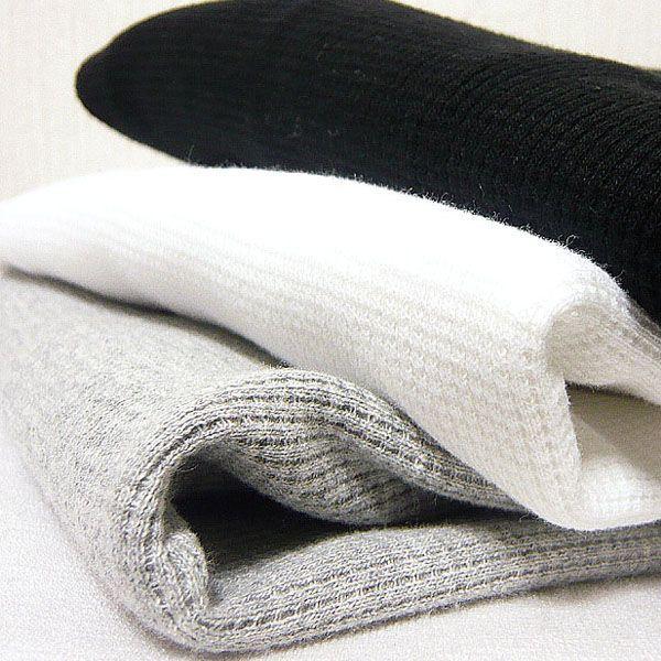 サーマル ロンT 無地 メンズ 長袖 ロング Tシャツ 厚手 白 黒 ブラック 防寒 インナー 杢グレー|eversoul|05