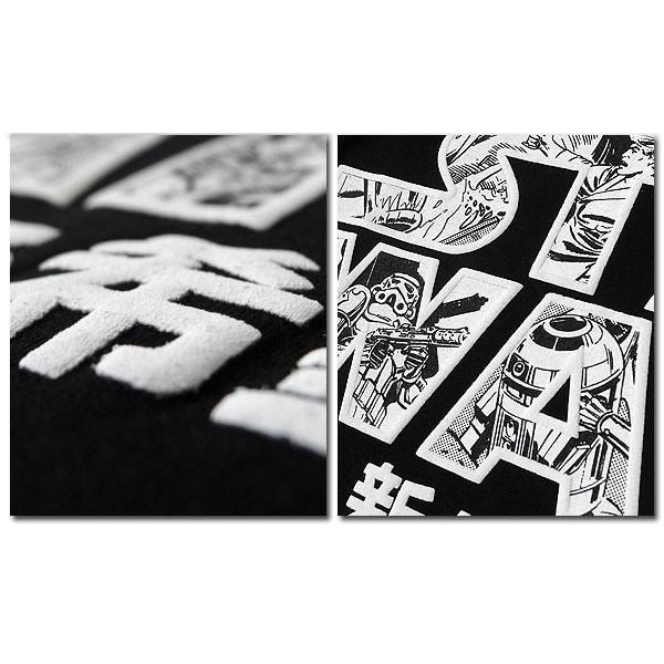 スターウォーズ Tシャツ メンズ 半袖 STARWARS ブラック 黒 レッド 赤 プリント キャラクター グッズ ダースベイダー ロゴ|eversoul|06