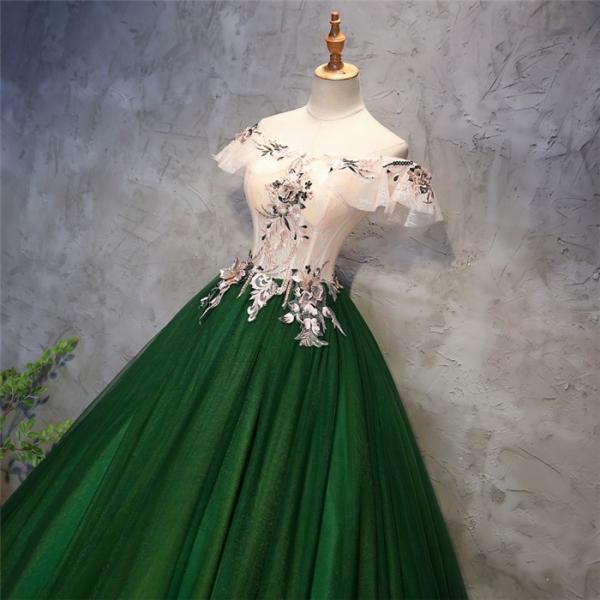 8ed7cf0c24df5 ... ロングドレス 演奏会 刺繍 ドレス ロング ステージ カラードレス ウエディングドレス オフショルダー ロングドレス ...