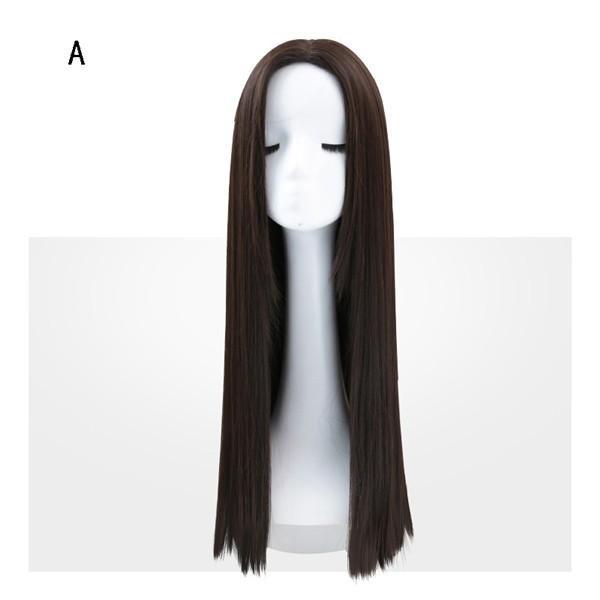 ウィッグ ロング フルウィッグ ミディアム グラデーション 自然 つけ毛 エクステ ウイッグ かつら wig セミロング コスプレ  ハロウィン レイヤー