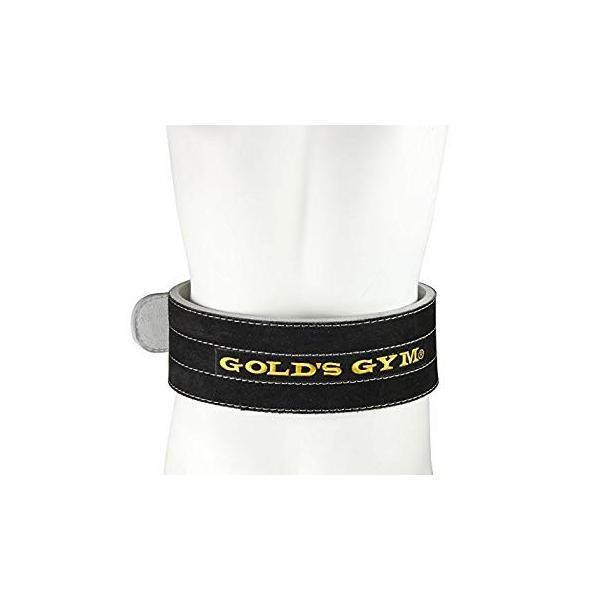 GOLD'S GYM(ゴールドジム) パワーベルト シングルピン G3351 Mサイズ|evidenthree|03