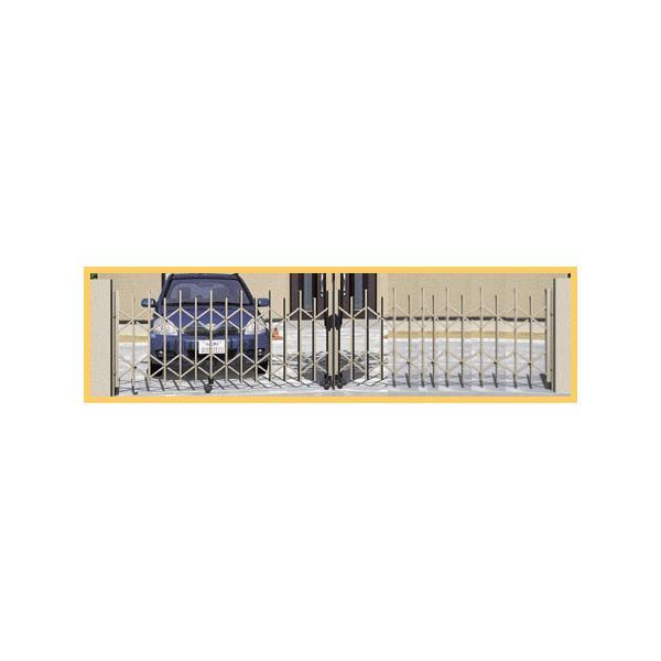 三協アルミ カーテンゲートCVUN−1N型 ■52Wサイズ 両開き.キャスタータイプ (受注生産品)  ex-ekutem