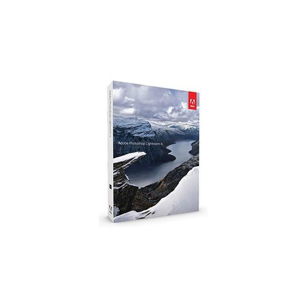 ※外箱傷みあり Photoshop Lightroom 6 日本語版 Win/Mac