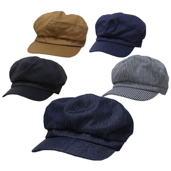キャスケットメンズ大きいサイズ帽子61cm対応オールド6方キャスワークキャップ