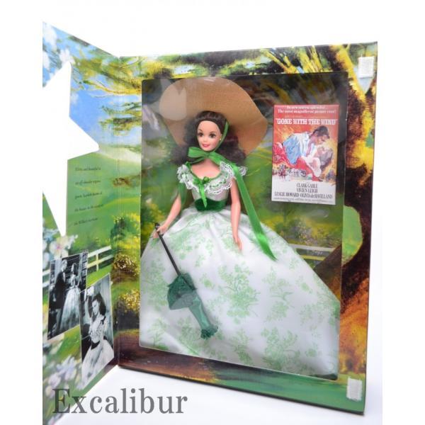 【バービー在庫処分】バービー 風と共に去りぬ スカーレット・オハラ excalibur