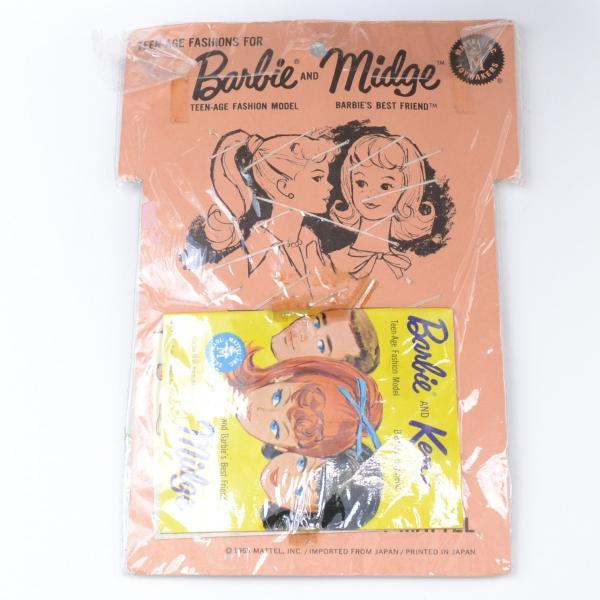【バービー在庫処分】 バービーの靴セット ビンテージ 1963年 バービー&ミッジシューズセット excalibur 04