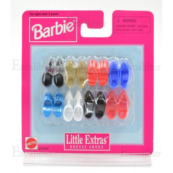 【バービー在庫処分】バービーの靴セット リトルエクストラ|excalibur