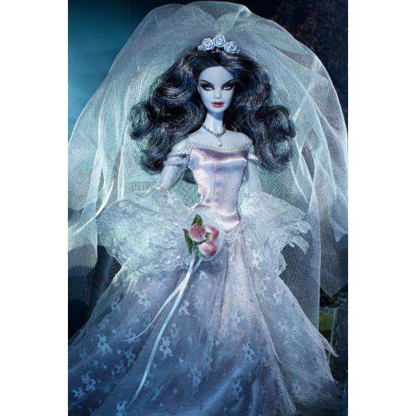 在庫★ホーンテッド ビューティ ゾンビブライド バービー Haunted Beauty Zombie Bride|excalibur|02