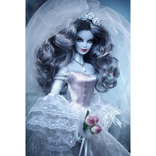 在庫★ホーンテッド ビューティ ゾンビブライド バービー Haunted Beauty Zombie Bride|excalibur|04