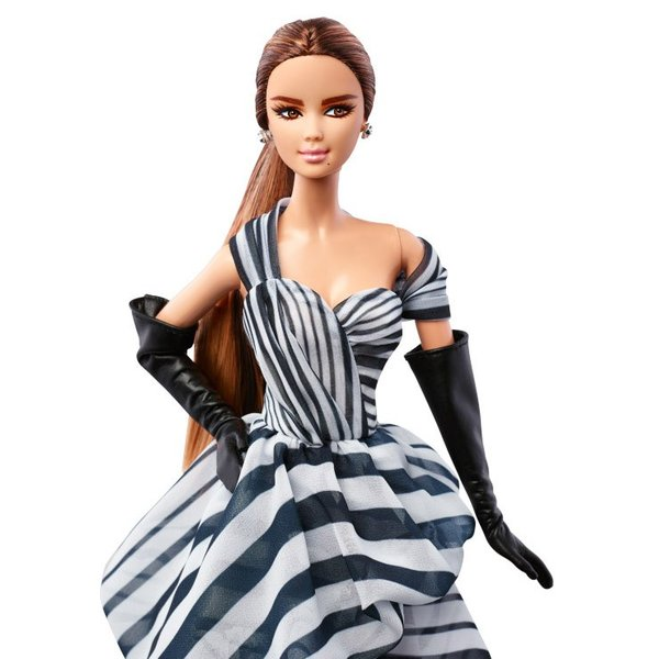 在庫★プラチナラベル シフォン ボール ガウン バービー Chiffon Ball Gown Barbie DGW59|excalibur|02