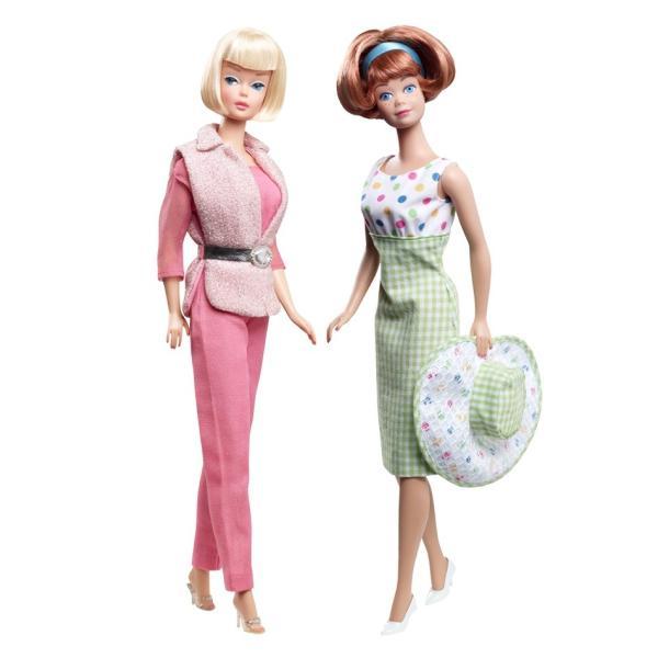 バービー&ミッヂ(ミッジ) 50周年記念 ギフトセット Barbie and Midge 50th Anniversary Gift Set|excalibur