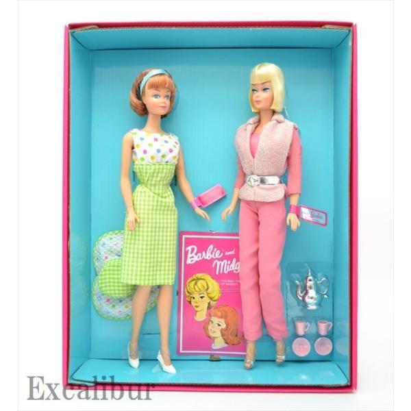 バービー&ミッヂ(ミッジ) 50周年記念 ギフトセット Barbie and Midge 50th Anniversary Gift Set|excalibur|04