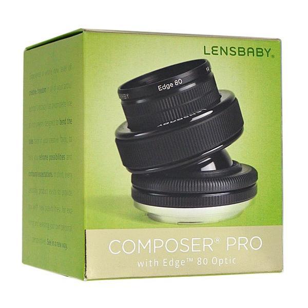 Lensbaby 単焦点レンズ コンポーザープロ エッジ80 キヤノン用