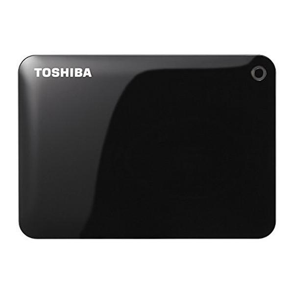 TOSHIBA『PortableHD CANVIO CONNECT HD-PF20TK 2TB』