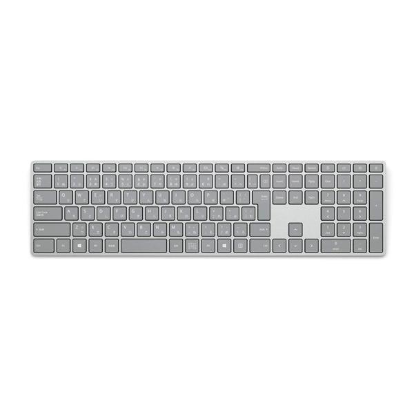 マイクロソフト Surfaceキーボード(日本語版) WS2-00019 グレーの画像