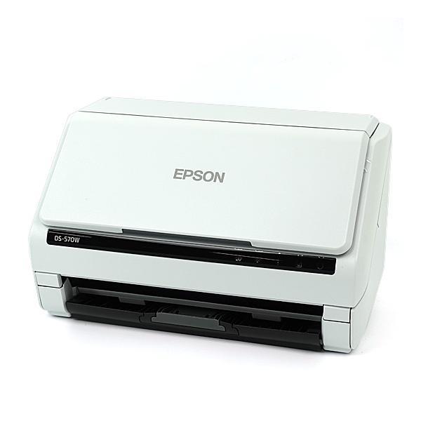 【新品(開封のみ)】 EPSON製 A4シートフィードスキャナー DS-570W