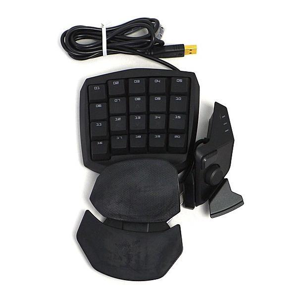 左手用ゲーミングキーパッド[USB] Razer Orbweaver(ブラック) RZ07-00740100-R3M1の画像