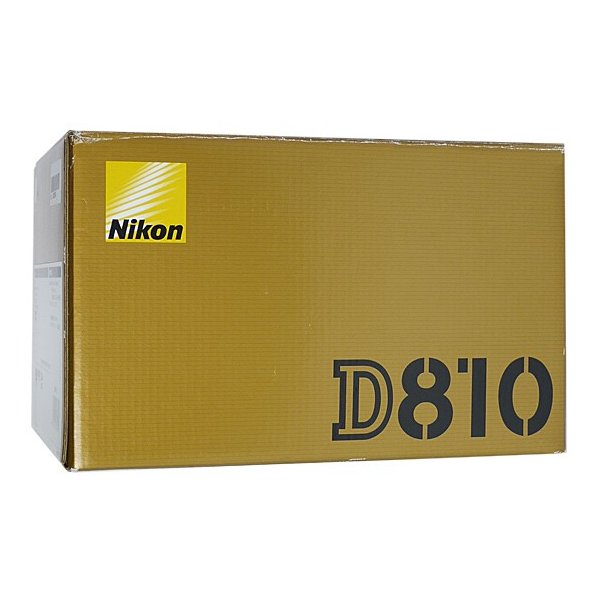 Nikon 一眼レフカメラ D810 ボディ 3635万画素 元箱あり