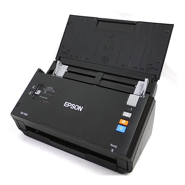 EPSON(エプソン) 【Windows8対応】A4スキャナ[600dpi・USB2.0] シートフィードスキャナ DS-510の画像