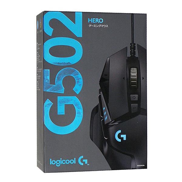 LOGICOOL G502 HEROゲーミング マウス G502RGBh ブラックの画像