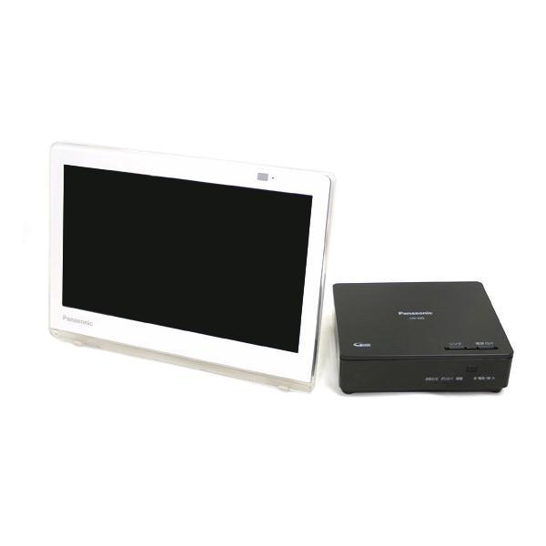 パナソニック プライベートビエラ VIERA(ビエラ) UN-10CE8-W ホワイト 画面サイズ:10v型の画像
