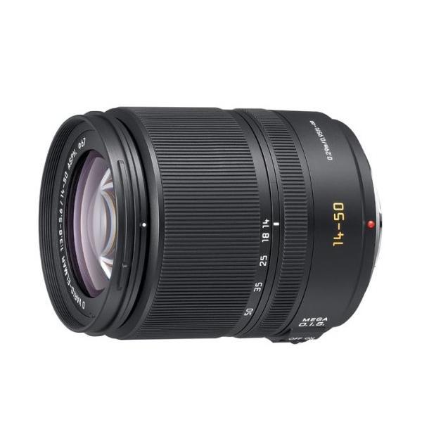 【中古】Panasonic 標準ズームレンズ LEICA D VARIO-ELMAR 14-50mm/F3.8-5.6 ASPH./MEGA O.I.S. L-RS014050