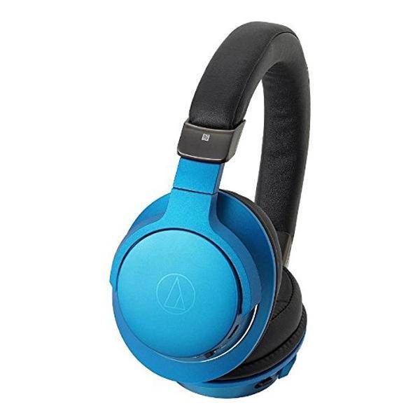 オーディオテクニカ Bluetoothヘッドホン ATH-AR5BT BL ターコイズブルーの画像