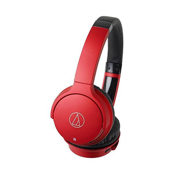 オーディオテクニカ Bluetoothヘッドホン ATH-AR3BT RD レッドの画像