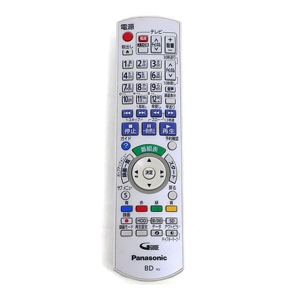 【新品(開封のみ)】 Panasonic ブルーレイディスクレコーダー用リモコン N2QAYB000564