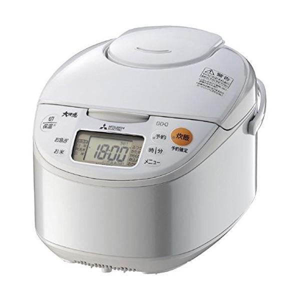 三菱電機 IH炊飯器 NJ-NH106-W ホワイト 炊飯容量:5.5合の画像