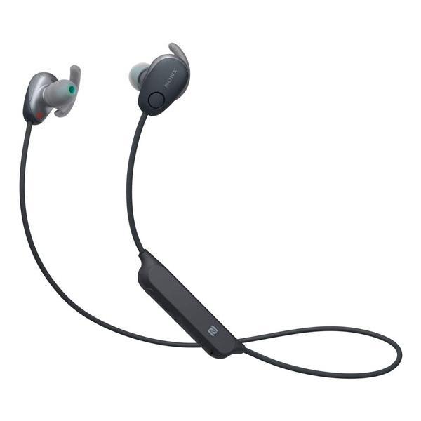 ソニー Bluetoothヘッドホン WI-SP600N B ブラックの画像