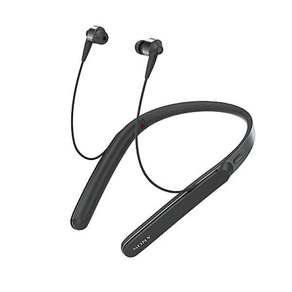 ソニー Bluetoothヘッドホン WI-1000X B ブラックの画像