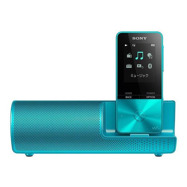 ソニー メモリープレーヤー NW-S313K L ブルー 容量:4GBの画像