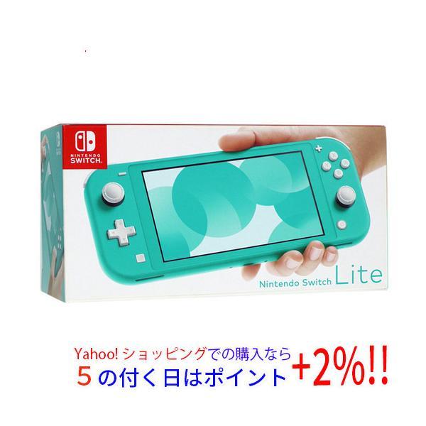 中古 任天堂NintendoSwitchLite(ニンテンドースイッチライト)HDH-S-BAZAAターコイズ美品元箱あり