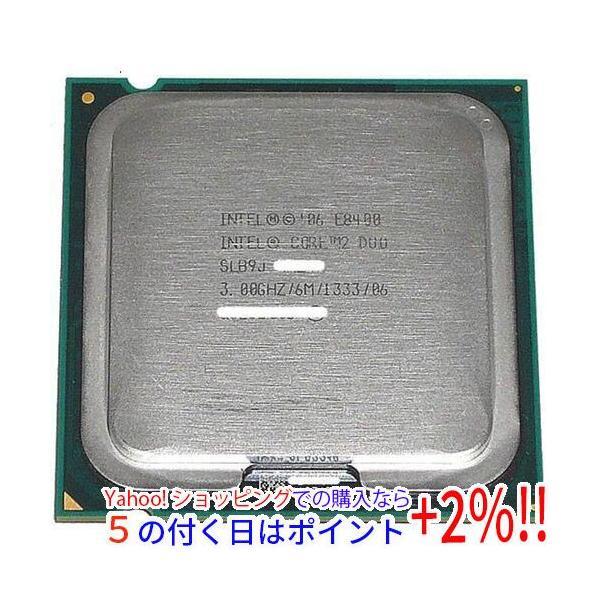 【中古】【ゆうパケット対応】Core 2 Duo E8400 3.0GHz FSB1333MHz LGA775 6MB SLB9J