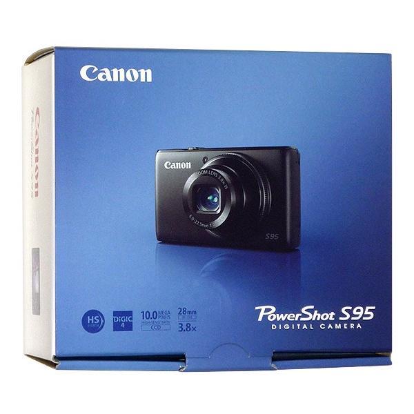 【中古】Canon製 PowerShot S95 1000万画素 元箱あり