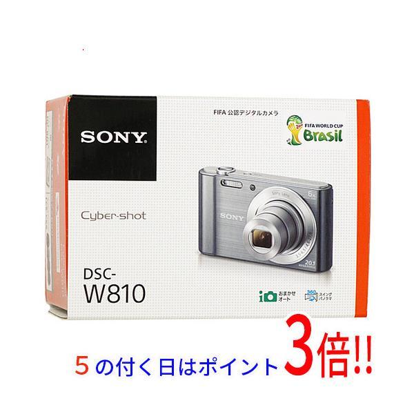 SONY製 Cyber-shot DSC-W810 ブラック 2010万画素 元箱あり