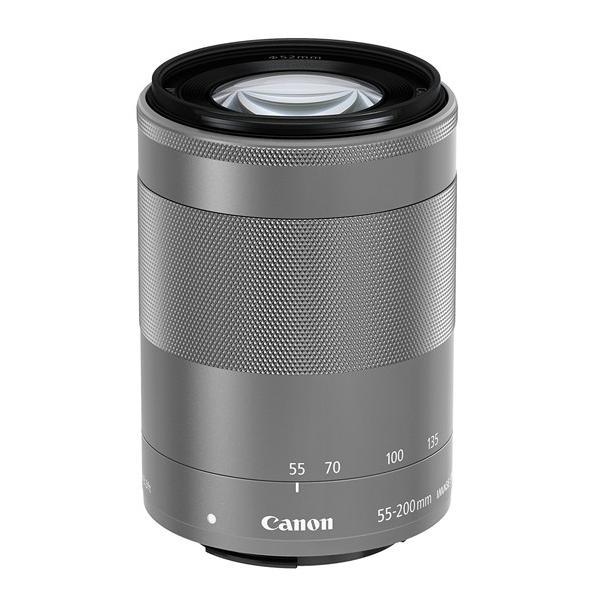 Canon★EF-M55-200mm F4.5-6.3 IS STM シルバー★ワケあり●新品