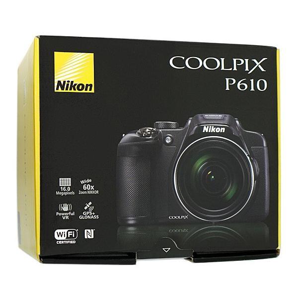 Nikon製 デジカメ COOLPIX P610 ブラック/1605万画素
