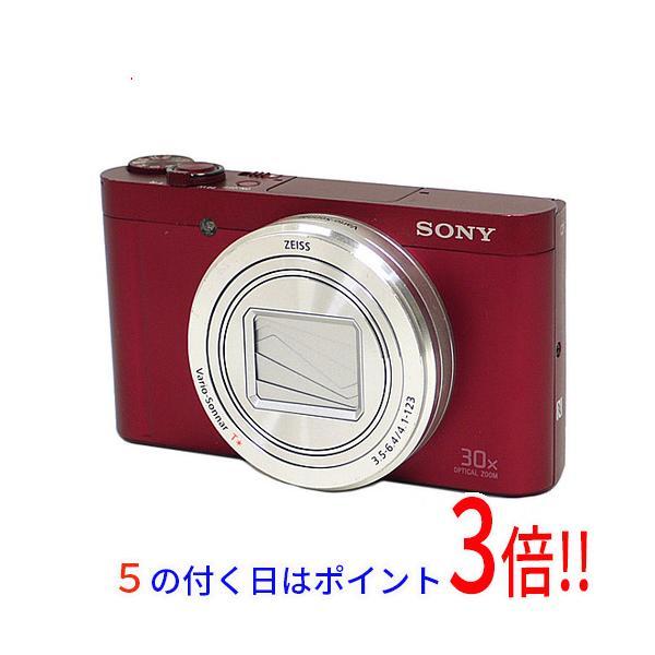 ソニー 高倍率コンパクトカメラ Cyber-shot(サイバーショット) DSC-WX500 R レッドの画像
