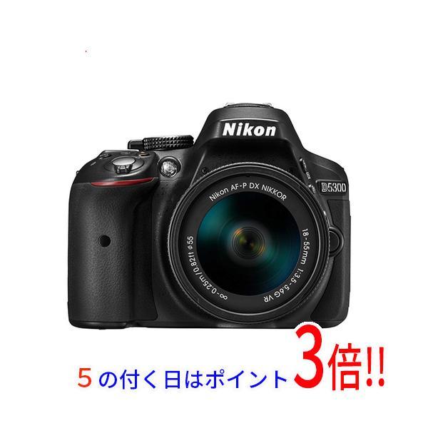 Nikon デジタル一眼レフカメラ D5300 AF-P 18-55 VR キット ブラック 展示品
