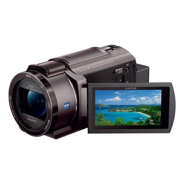 SONY製 デジタル4Kビデオカメラレコーダー FDR-AX45/TI ブロンズブラウン 展示品
