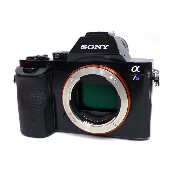 【中古】SONY デジタル一眼カメラ α7S ILCE-7S ボディ 液晶いたみ 元箱あり